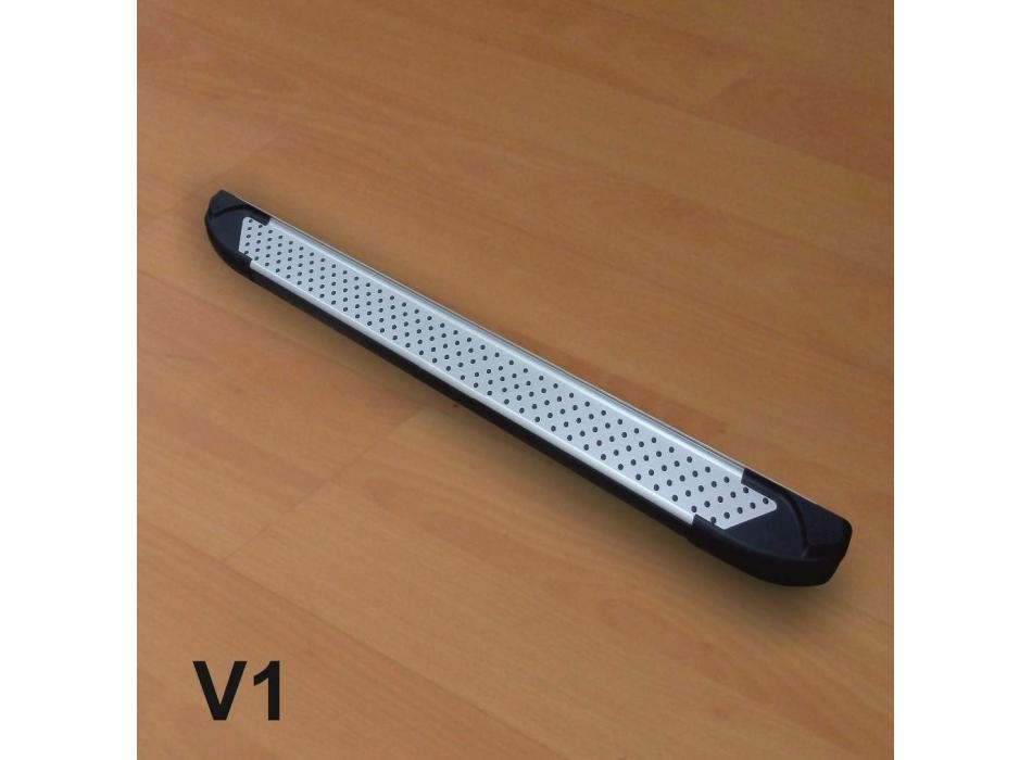 dacia sandero magnifique marche pieds aluminium exclusive designs v1 v2 v3. Black Bedroom Furniture Sets. Home Design Ideas