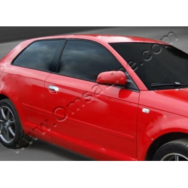 AUDI A3 8PA  Door Handle Covers  Chrome S. Steel 304