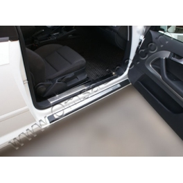 AUDI A3 8P  Door sills  Chrome S. Steel 304