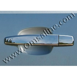 CHEVROLET Aveo   Door Handle Covers 4 Pieces 2 holes Chrome S. Steel 304