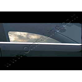 CHEVROLET Cruze   Windows Trims 6 pieces Bottom Chrome S. Steel 304