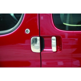 CITROEN Berlingo Mk1 Facelift Door Handle Covers 5 Pieces Chrome S. Steel 304