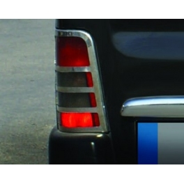 CITROEN Berlingo Mk1  Tail Lights Surrounds Trims Chrome S. Steel 304