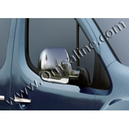 CITROEN Berlingo Mk2  Wing Mirrors Covers ABS Chromed