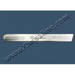 CITROEN C1  3 doors Door sills 2 Pieces Chrome S. Steel 304
