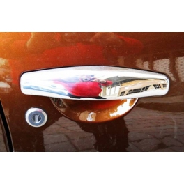 DACIA Duster   Door Handle Covers  Chrome S. Steel 304