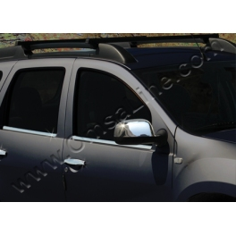 DACIA Duster   Wing Mirrors Covers Chrome S. Steel 304