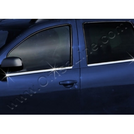DACIA Duster   Windows Trims 4 Pieces Chrome S. Steel 304