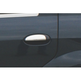 DACIA Logan Mk1  Door Handle Covers  Chrome S. Steel 304