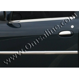 DACIA Logan Mk1  Door Mouldings Trims 4 Pieces Chrome S. Steel 304