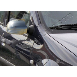 DACIA Logan Mk1 Facelift Wing Mirrors Covers Chrome S. Steel 304
