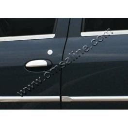 DACIA Logan Mk1 Facelift Door Mouldings Trims 4 Pieces Chrome S. Steel 304