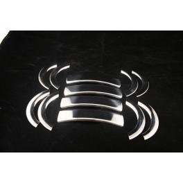 FIAT Doblo Mk1  Door Handle Covers 5 Pieces Chrome S. Steel 304