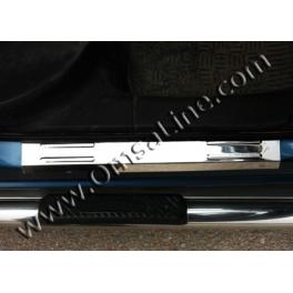 FIAT Doblo Mk1  Door sills 2 Pieces Chrome S. Steel 304