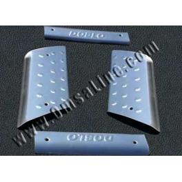 FIAT Doblo Mk1  Door Steps 4 Pieces Chrome S. Steel 304