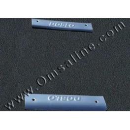 FIAT Doblo Mk1  Door Steps 2 Pieces Chrome S. Steel 304