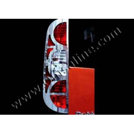FIAT Doblo Mk1 Facelift Tail Lights Trims Chrome S. Steel 304
