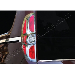 FIAT Doblo Mk2  Tail Lights Trims ABS Chromed