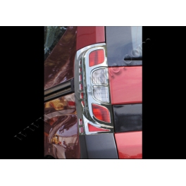 FIAT Fiorino Mk3  Tail Lights Trims ABS Chromed