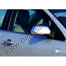 FORD C-MAX Mk1 without Sidemarkers Wing Mirrors Covers ABS Chromed