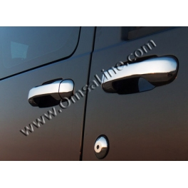 FORD Transit Connect   Door Handle Covers 5 Pieces Chrome S. Steel 304
