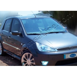 FORD Fiesta Mk6 Prefacelift  Door Mouldings Trims 4 Pieces Chrome S. Steel 304