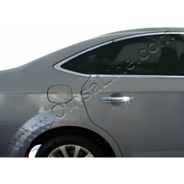 FORD Mondeo Mk4  Door Handle Covers  Chrome S. Steel 304