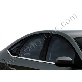FORD Mondeo Mk4  Windows Trims 6 pieces Chrome S. Steel 304