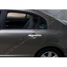 HONDA Civic Mk8 Saloon Door Handle Covers  Chrome S. Steel 304