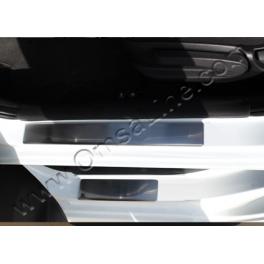 HYUNDAI Accent Mk4  Door sills SOLARIS Chrome S. Steel 304