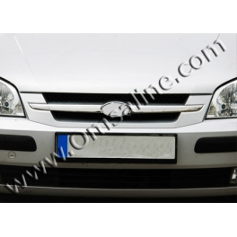 HYUNDAI GETZ   Grill Cover 2 Pieces Chrome S. Steel 304