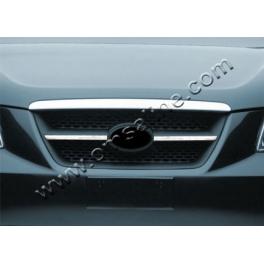 HYUNDAI Sonata Mk5  Grill Cover 2 Pieces Chrome S. Steel 304