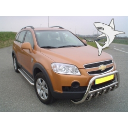 CHEVROLET Captiva Front Bull-Bar With Bottom Grille and Logo FGBM02
