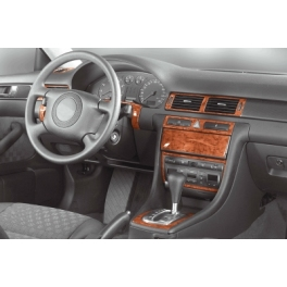 Audi A6 C5 Automatic Trans. Dash Trim Kit 3M 3D 12-Parts