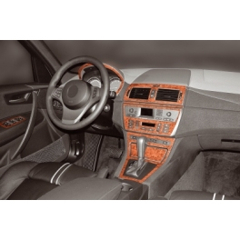BMW X3 E83 Dash Trim Kit 3M 3D 12-Parts