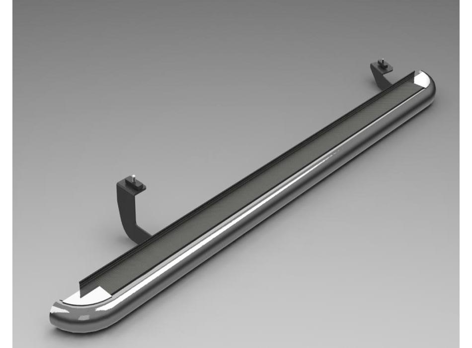 Mercedes Sprinter Mk2 W906 S Steel Running Boards Ssc02