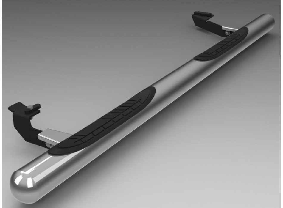 Suzuki Grand Vitara Mk3 Side Bars With Plastic Steps Ssb02