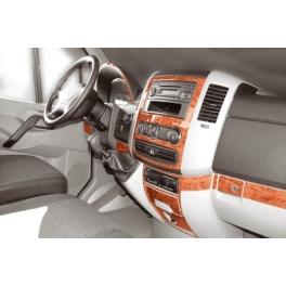 Mercedes Sprinter Mk2 W906 2006 up Dash Trim Kit 3M 3D 18-Parts
