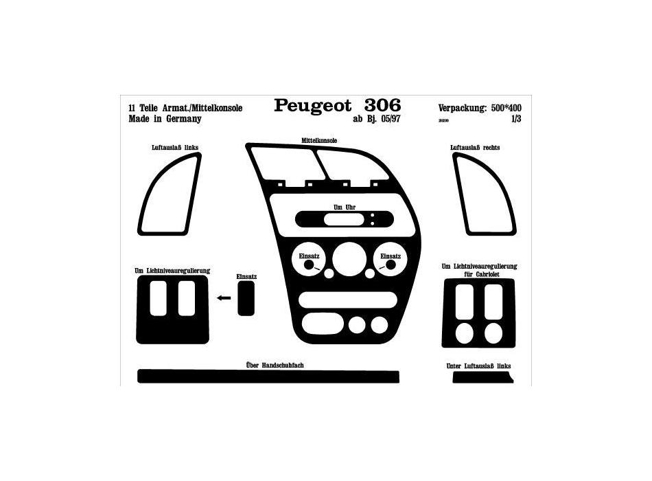 Peugeot 307 Trim