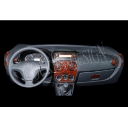 Peugeot Bipper  Dash Trim Kit 3M 3D 27-Parts