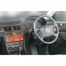 RHD Audi A6 C5 Automatic Trans. Dash Trim Kit 3M 3D 12-Parts