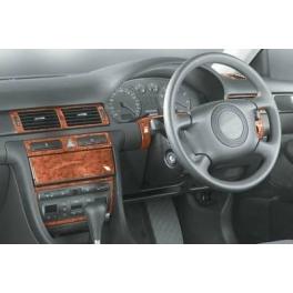 RHD Audi A6 C5 Manual Transm. Dash Trim Kit 3M 3D 14-Parts