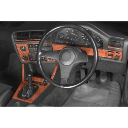 RHD BMW 3 Series E30 Dash Trim Kit 3M 3D 10-Parts