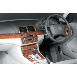 RHD BMW 3 Series E46 Dash Trim Kit 3M 3D 25-Parts