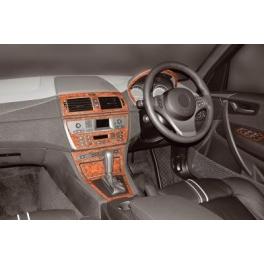 RHD BMW X3 E83 Dash Trim Kit 3M 3D 12-Parts