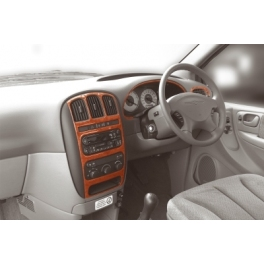 RHD Chrysler Voyager MK4 Dash Trim Kit 3M 3D 7-Parts