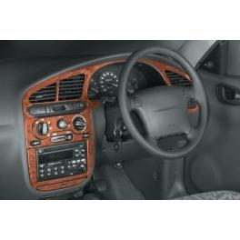 RHD Daewoo Lanos  Dash Trim Kit 3M 3D 11-Parts