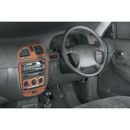 RHD Daewoo Nubira  Dash Trim Kit 3M 3D 19-Parts