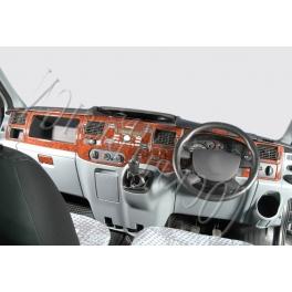 RHD Ford Transit Mk7 Dash Trim Kit 3M 3D 24-Parts