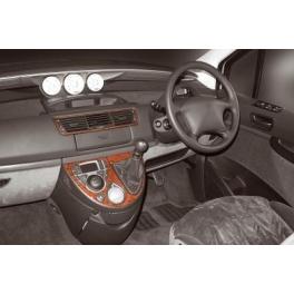 RHD Lancia Phedra 09.2002 up Dash Trim Kit 3M 3D 4-Parts